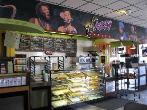Jazzy Bagels in downtown Gresham, OR.  Photo: KGilb.