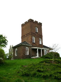 Alexander's Castle. Fort Worden State Park. Photo: KGilb.