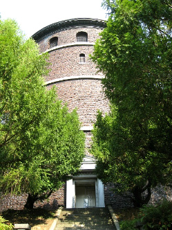 Water Tower in Seattle's Volunteer Park. Photo: KGilb.