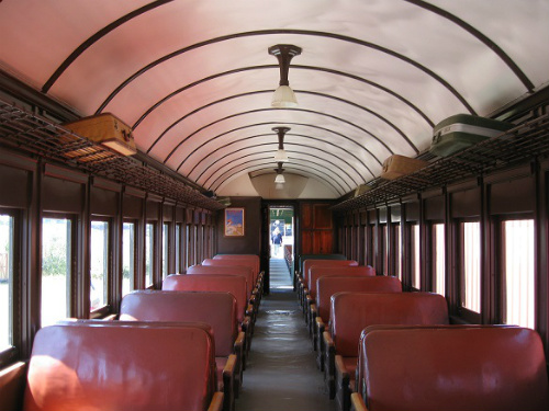 OCSR's fully restored Pullman Coach. Photo: KGilb.